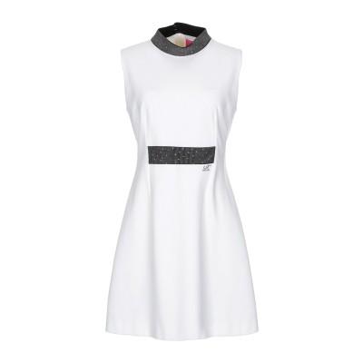 VDP COLLECTION ミニワンピース&ドレス ホワイト 42 レーヨン 70% / ナイロン 25% / ポリウレタン 5% ミニワンピース
