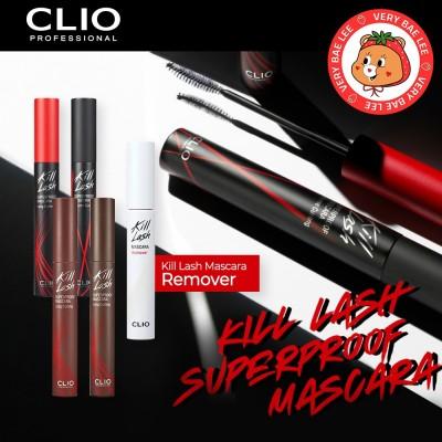 【CLIO】クリオキルラッシュスーパープルーフマスカラ/Kill Lash Superproof Mascara 7g/Kill Lash Mascara Remover