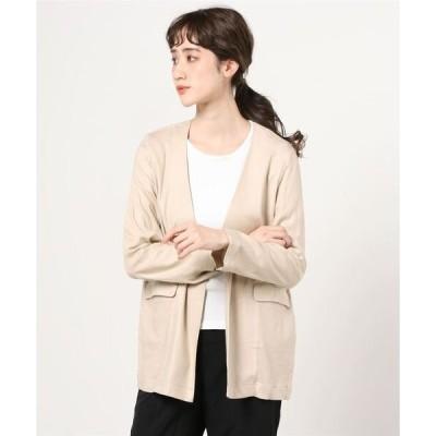 ジャケット テーラードジャケット [Jeans Factory Clothes/ジーンズファクトリークローズ] リネンノーカラージャケット