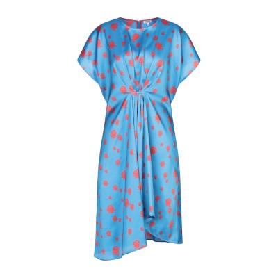 ケンゾー KENZO ミニワンピース&ドレス アジュールブルー 36 ポリエステル 100% ミニワンピース&ドレス