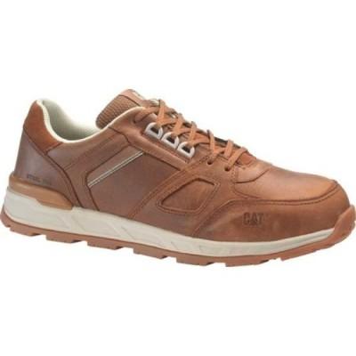 キャピタラー カジュアル Caterpillar メンズ シューズ・靴 Woodward Static Dissipating Steel Toe Work Shoe Barley