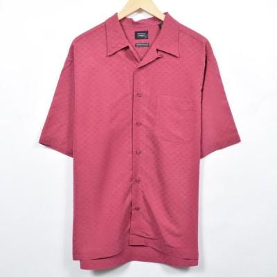 haggar 半袖 オープンカラー レーヨンシャツ XL /eaa040209
