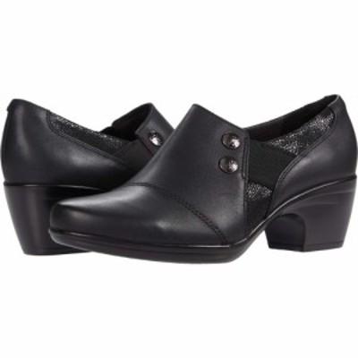 クラークス Clarks レディース シューズ・靴 Emily Beales Black Leather/Synthetic Combination