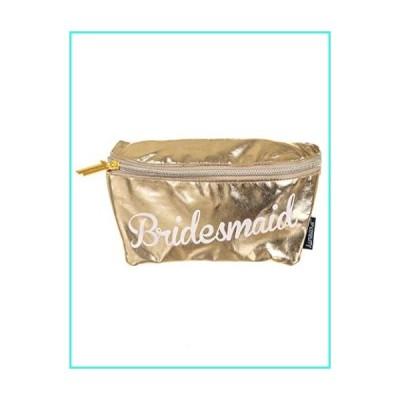 【新品】FYDELITY- Ultra-Slim Fanny Pack: BRIDESMAID Metallic Gold(並行輸入品)