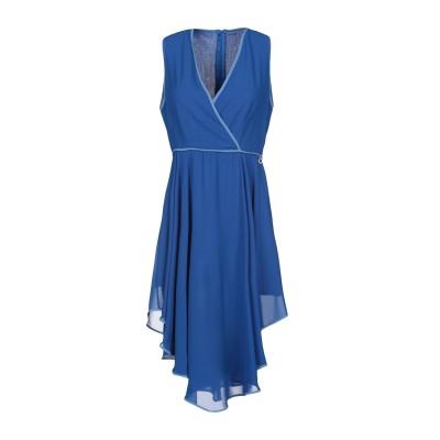 レリッシュ RELISH ミニワンピース&ドレス ブルー XS ポリエステル 100% ミニワンピース&ドレス