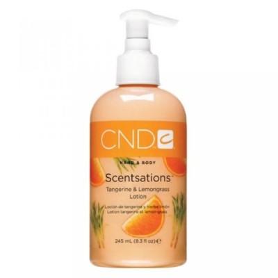 美容・コスメ ネイル ネイルケア CND Scentsations Hand & Body Lotion  Tangerine & Lemongrass  8.3 oz. 正規輸入品