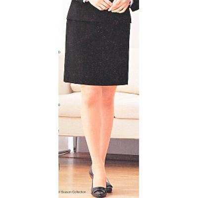 FS462E-1-2 セミタイトスカート(9号:52cm丈) 全2色 (フォーク FOLK ヌーヴォ NUOVO 事務服 制服)