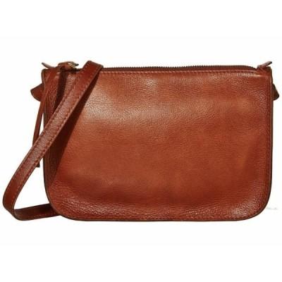 メイドウェル ハンドバッグ バッグ レディース The Simple Crossbody Bag English Saddle