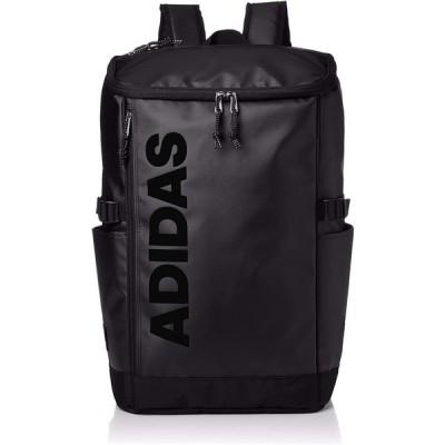 adidas アディダス フォ-ゲルA 30L ボックスタイプ バックパック リュックサック B4サイズ 通学 通塾 部活 通勤 フィットネス ブラックブラック 62792