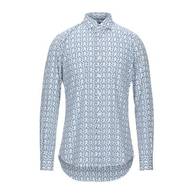 ORIAN シャツ ホワイト 39 コットン 100% シャツ