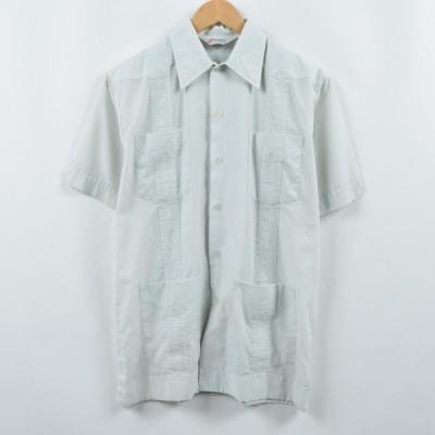 the ROMANI メキシカンシャツ キューバシャツ M /eaa037592