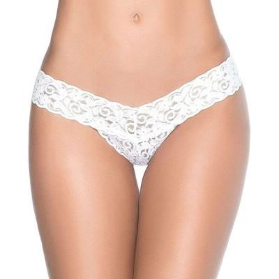 マパラ MapalA レディース ショーツのみ インナー・下着 lace thong White