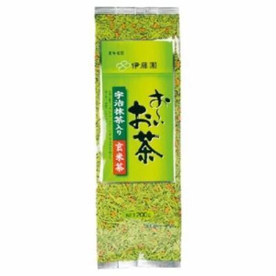 伊藤園 宇治抹茶入り玄米茶 200g まとめ買い(×5) 4901085014899(tc)