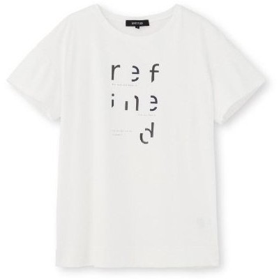 UNTITLED(アンタイトル)【洗える・UVカット・接触冷感】クールコットンロゴTシャツ