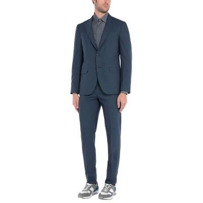 ボリオリ BOGLIOLI スーツ ダークブルー 50 バージンウール 100% スーツ