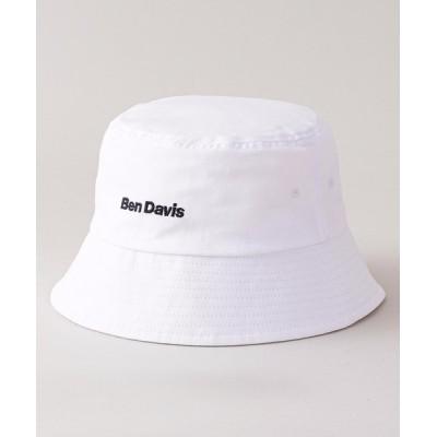 LB/S / 【BEN DAVIS/ベンデイビス】ダウンバケットハット ワンポイント刺繍 ブランドロゴ MEN 帽子 > ハット