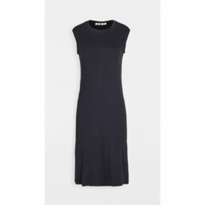 アモ AMO レディース ワンピース ノースリーブ ワンピース・ドレス Sleeveless Rib Dress Vintage Black