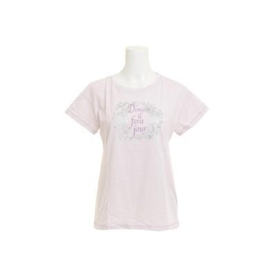 ウィッテム(HUITIEME) 【多少の傷汚れありの為大奉仕】Tシャツ レディース 半袖 T/C DROP SHOULDER HU18SCD864412LVD (レディース)