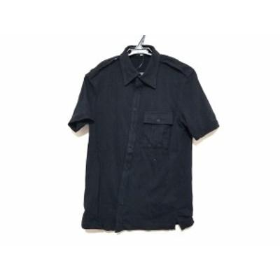 ミハラヤスヒロ MIHARAYASUHIRO 半袖シャツ サイズF メンズ 美品 黒【中古】20201119