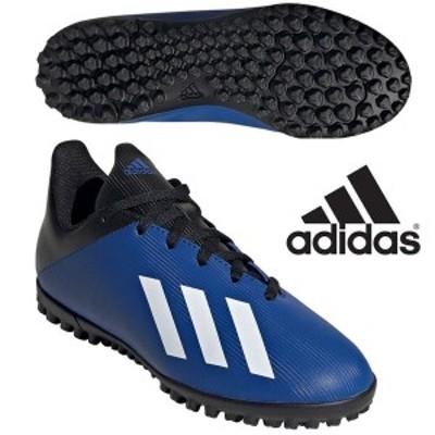 即納可☆【adidas】アディダス エックス 19.4 TF ベルクロ サッカートレーニングシューズ FV4662
