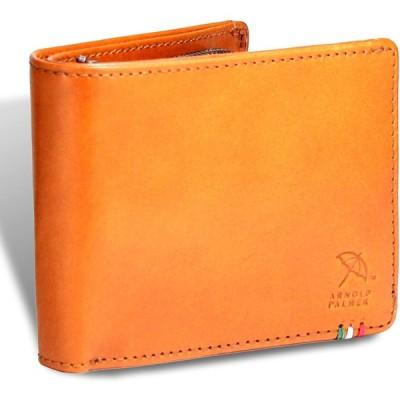 [アーノルドパーマー] 財布 メンズ 二つ折り財布 札入 小銭入れ 本革 イタリーレザー APS-3308 (tan)