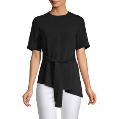 リー&ヴィオラ レディース トップス シャツ Short-Sleeve Asymmetrical Top