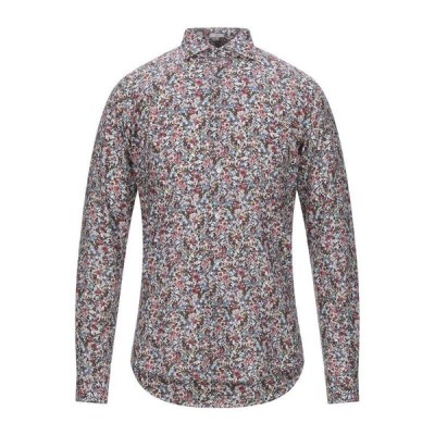 OGNUNOLASUA by CAMICETTASNOB 柄入りシャツ ファッション  メンズファッション  トップス  シャツ、カジュアルシャツ  長袖 フューシャ