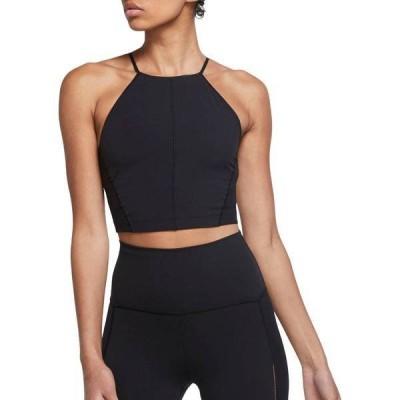 ナイキ レディース シャツ トップス Nike Women's Yoga Infinalon Crop Tank Top