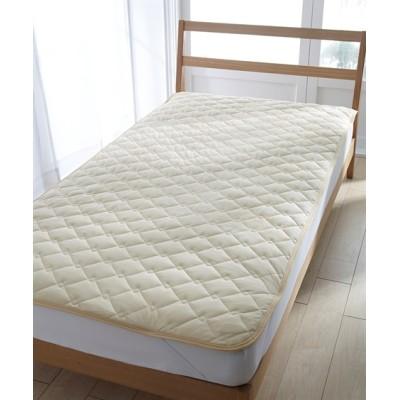 吸汗速乾ドライニット敷きパッド 敷きパッド・敷パッド, ベッドパッド, Bed pats(ニッセン、nissen)