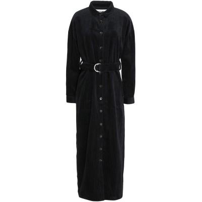 ファイブプレビュー 5PREVIEW ロングワンピース&ドレス ダークブルー S コットン 100% ロングワンピース&ドレス