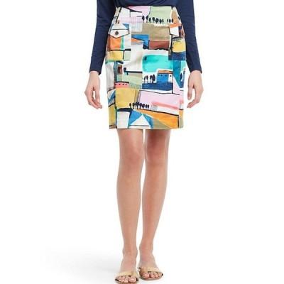 ニックアンドゾー レディース スカート ボトムス Street Scene High Rise Cotton Blend Pencil Skirt