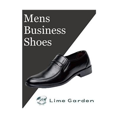 【ライムガーデン】 メンズ ローファー ビジネスシューズ カジュアル 軽量 革靴 LG117 (27cm)