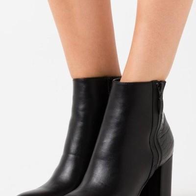 エスプリ レディース ブーツ VERONA - High heeled ankle boots - black