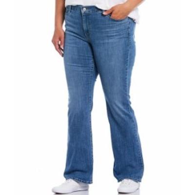リーバイス レディース デニムパンツ ボトムス Levi'sR Plus Size 415 Classic Bootcut Jeans Lapis Sights