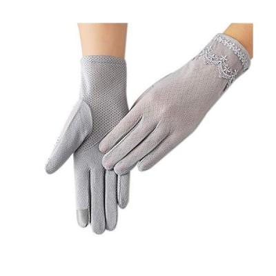 グローブ レディース UVカット手袋 レース ショート 薄型 日焼け防止手袋 柔らかい ウエディング アウトドア ド