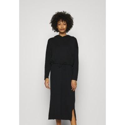 イー ディ シー バイ エスプリ レディース ワンピース トップス 2 IN 1 DRESS - Jumper dress - black black