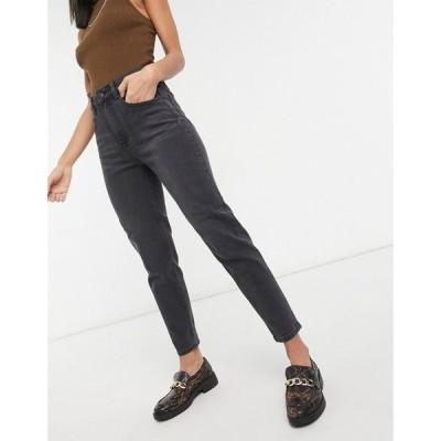 オブジェクト Object レディース ジーンズ・デニム ボトムス・パンツ Vinnie High Waist Mom Jeans In Grey