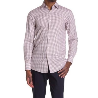 ボス メンズ シャツ トップス Marley Sharp Fit Dress Shirt DK RD