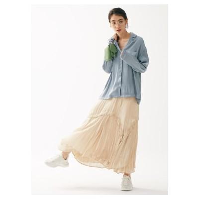 SNIDEL(スナイデル)シャイニープリーツスカート