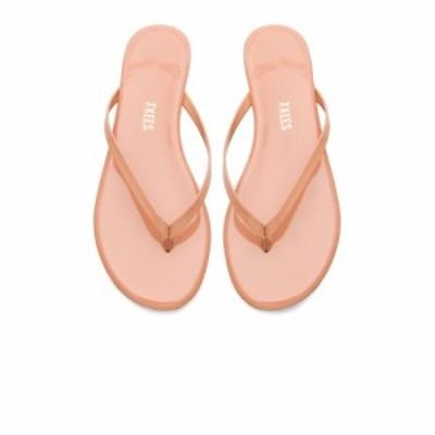 【即納】ティキーズ TKEES レディース サンダル・ミュール シューズ・靴 Foundations Gloss Sandal Nude Beach