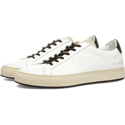 コモン プロジェクト Common Projects メンズ スニーカー シューズ・靴 Retro Low Special Edition White/Black