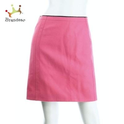ニジュウサンク 23区 スカート サイズM レディース 新品同様 ピンク系 タイトスカート   スペシャル特価 20201227