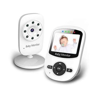 (新品) Baby Monitor, Video Baby Monitor with Digital Color Camera, Wireless View Video, Two-Way Talk, Lullabies, Infrared Night Vision