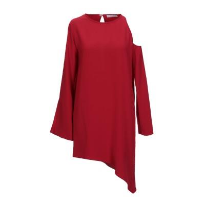 イロ IRO ミニワンピース&ドレス レッド 34 ポリエステル 100% ミニワンピース&ドレス