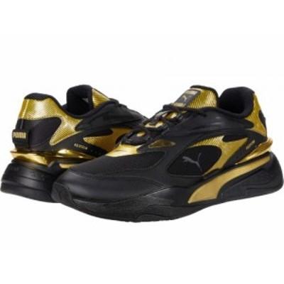 PUMA プーマ メンズ 男性用 シューズ 靴 スニーカー 運動靴 RS-Fast Metal Puma Black/Puma Team Gold【送料無料】