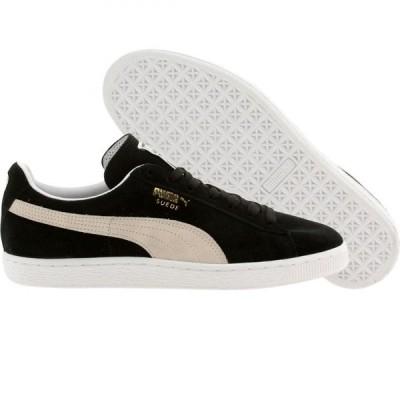 プーマ Puma メンズ スニーカー シューズ・靴 Suede Classic Eco black/white