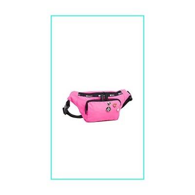 【新品】LeSportsac Women's x Baron von Fancy Belt Bag, Magenta, Pink, One Size(並行輸入品)