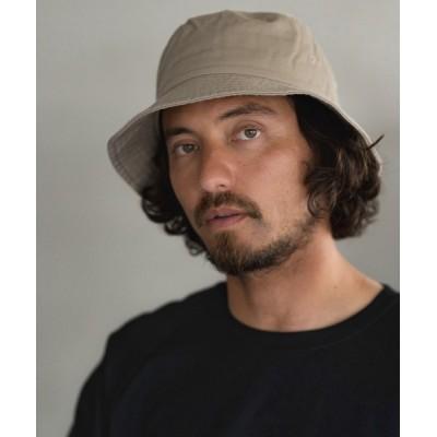 CAMBIO / mko9824-ミニマルコットンバケットハット MEN 帽子 > ハット