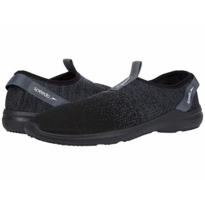 スピード スニーカー シューズ メンズ Surf Knit Pro Black/White