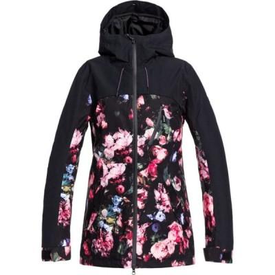 ロキシー Roxy レディース スキー・スノーボード コート ジャケット アウター Stated Parka Snowboard Jacket True Black Blooming Party